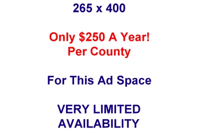 Only $200 Per Year Per County