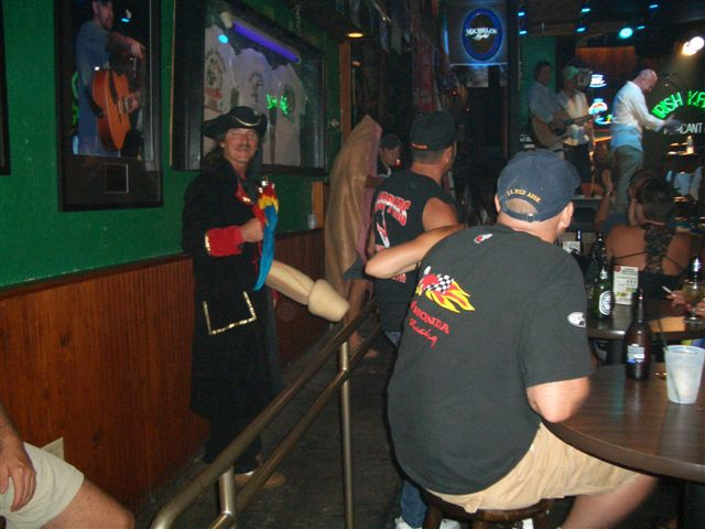 Irish Kevins Pictures - Pirate - Duval Street, Key West Florida